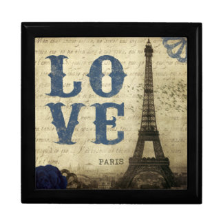 Vintage Paris Jewelry Box