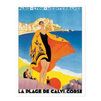 Vintage París Lyon Mediterranee Tarjetas Postales