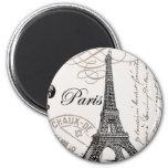 Vintage Paris...magnet 2 Inch Round Magnet