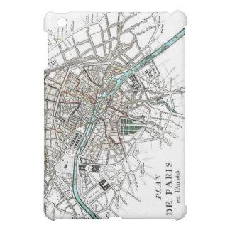 Vintage Paris Map iPad Mini Covers