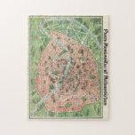 """vintage Paris map puzzle<br><div class=""""desc"""">vintage Paris map puzzle</div>"""
