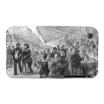 Vintage Paris Montmartre Cafe iPhone 3G/3GS Case iPhone 3 Covers  at Zazzle