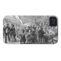 Vintage Paris Montmartre Cafe iPhone 4/4S Case iPhone 4 Case-Mate  Cases at Zazzle