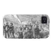 Vintage Paris Montmartre Cafe iPhone 4/4S Tough iPhone 4 Cover at  Zazzle