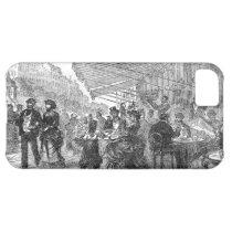 Vintage Paris Montmartre Cafe iPhone 5 iPhone 5C Case at Zazzle