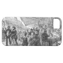 Vintage Paris Montmartre Cafe iPhone 5 iPhone 5 Cover at Zazzle