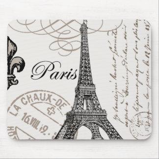 Vintage Paris...mousepad Mouse Pad