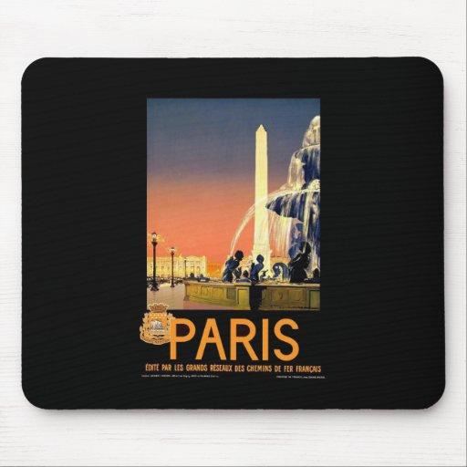 Vintage Paris Mousepads