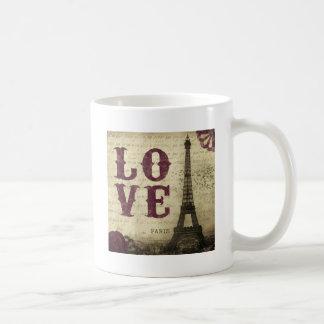 Vintage Paris Classic White Coffee Mug