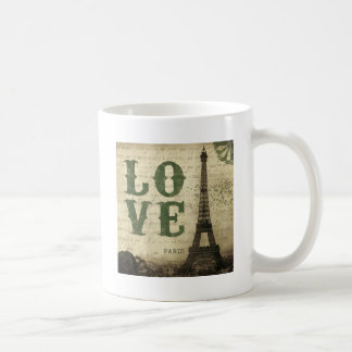 Vintage Paris Coffee Mugs