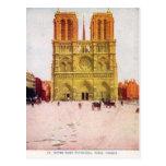 Vintage París, Notre Dame de Paris Postales