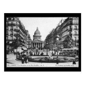 Vintage Paris Pantheon Postcard