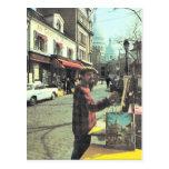 Vintage Paris, Paris Artist, Placed  de Theatre, Postcards