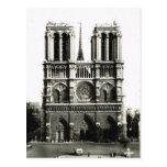 Vintage París, París Notre Dame, Ile de la Citie Tarjetas Postales