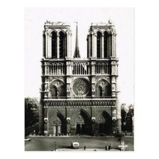 Vintage París, París Notre Dame, Ile de la Citie Postales