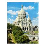 Vintage Paris, Paris Sacre Coeur, Montmatre Post Cards