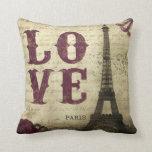 Vintage Paris Pillows