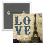 Vintage París Pin