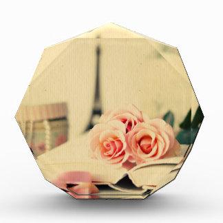 Vintage,paris,pink roses,eiffeltower,romantic,chic awards