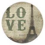 Vintage París Plato