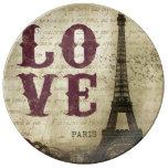 Vintage Paris Porcelain Plate