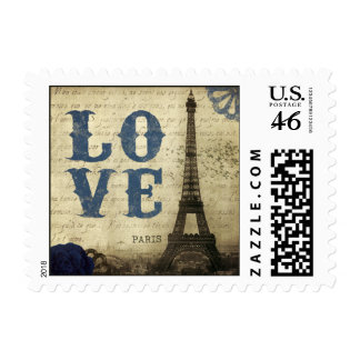 Vintage Paris Postage