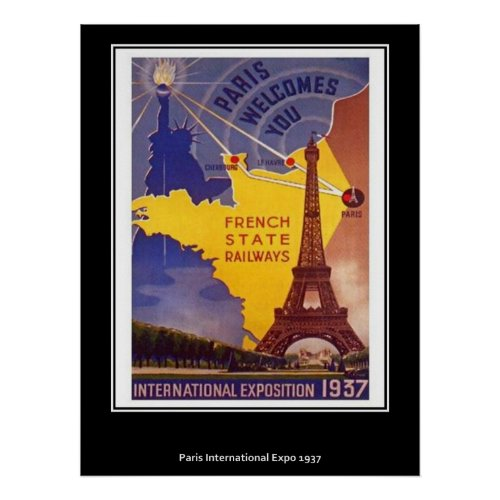 Vintage Paris Poster posters