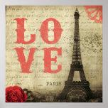 Vintage París Poster
