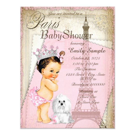 Vintage paris princess baby shower invitation zazzle vintage paris princess baby shower invitation filmwisefo