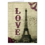Vintage Paris | Purple Cards