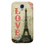 Vintage Paris Samsung Galaxy S4 Cases
