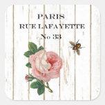 Vintage Paris Stickers