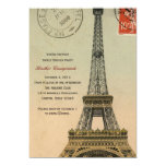 Vintage Paris Sweet Sixteen Birthday Party Invite