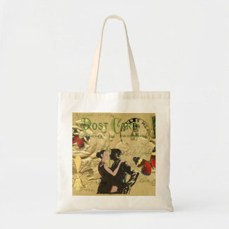Vintage Paris Tango post card Tote Bag