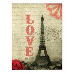 Vintage París Tarjetas Postales
