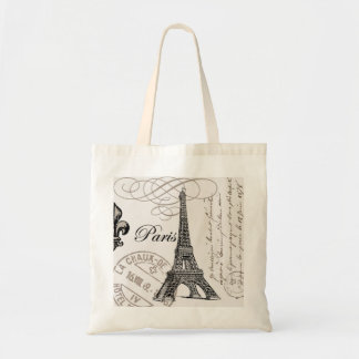 Vintage Paris...tote bag