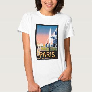 Vintage Paris Travel Advertisement T-Shirt