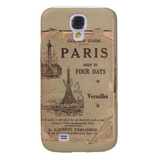 Vintage Paris Travel Brochure Samsung Galaxy S4 Galaxy S4 Covers