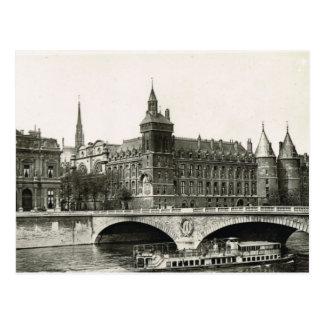 Vintage Paris,   Tribunal Postcard