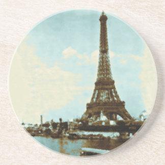 Vintage Paris Water Color Coaster