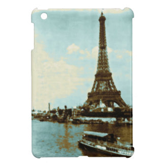 Vintage Paris Water Color - Eiffel Tower Cover For The iPad Mini