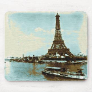 Vintage Paris Water Color Mouse Pads