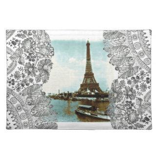 Vintage Paris Water Color Placemat