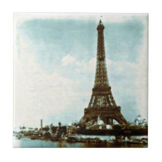 Vintage Paris Water Color Tile