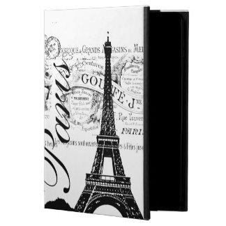 Vintage París y torre Eiffel
