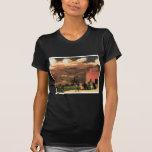 """Vintage """"parque de batería"""" circa 1902-1904 camisetas"""