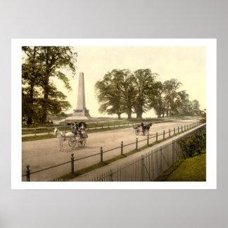 Vintage parque Dublín de Irlanda, Phoenix Posters