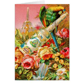 Vintage Parrott Cards