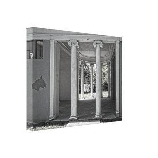 Vintage Parthenon Pillars Canvas Prints