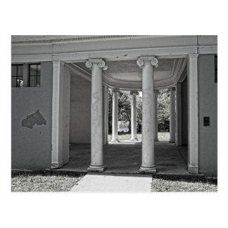 Vintage Parthenon Pillars Postcard
